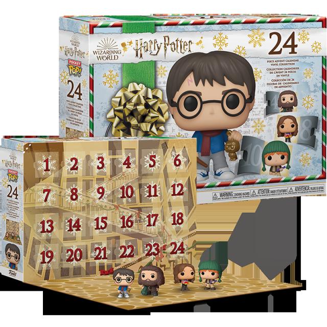 Pocket POP Harry Potter adventní kalendář 24 figurek