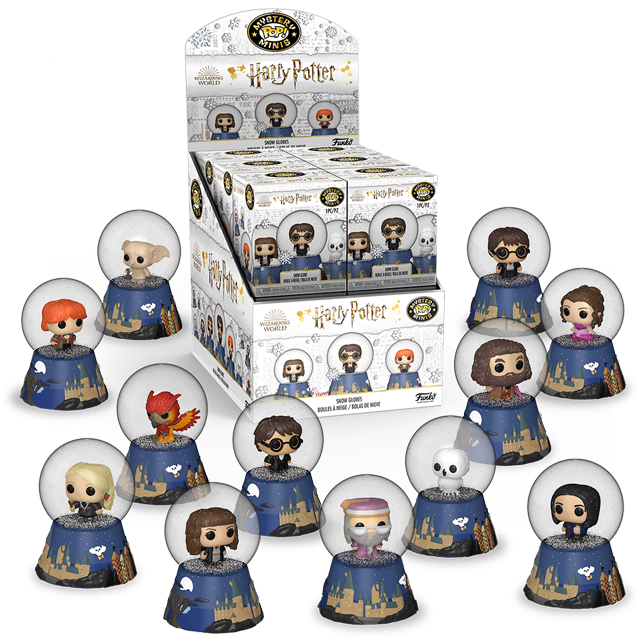 Mystery Minis Harry Potter sněhové koule - Blindbox