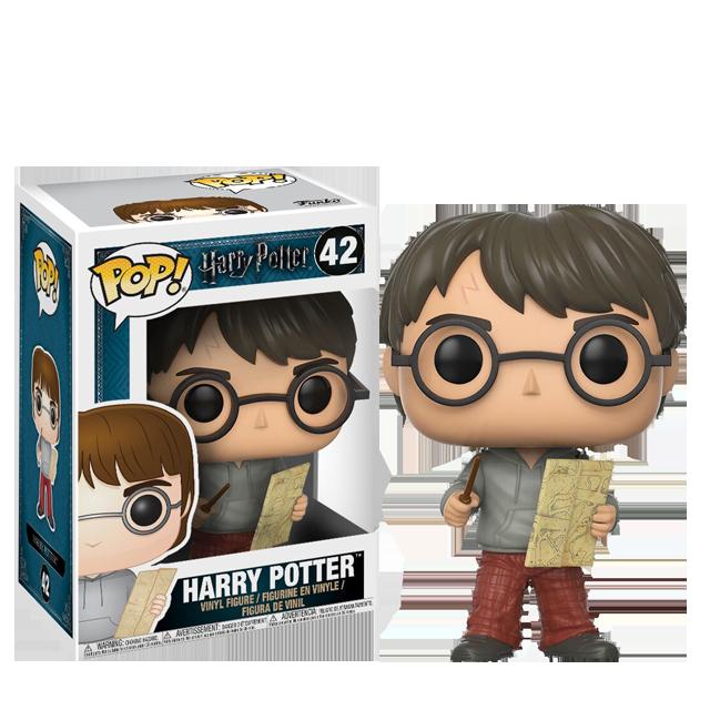 Figurka Funko POP! Harry s Pobertovým plánkem