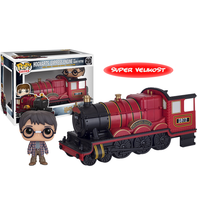 Figurka Funko POP! Hogwarts Express s Harrym