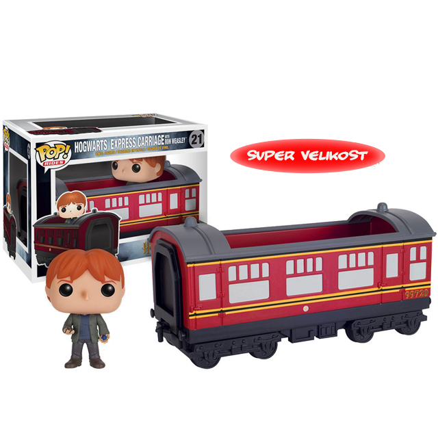 Figurka Funko POP! Hogwarts Express vagon s Ronem
