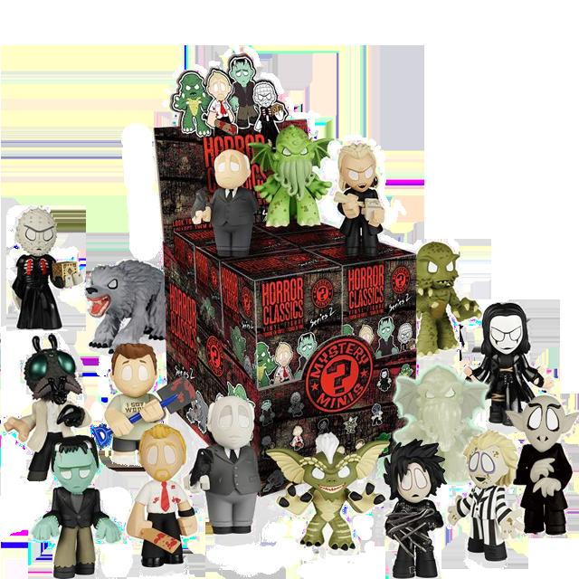 Figurky Mystery Minis Hororové klasiky série 2 - Blindbox