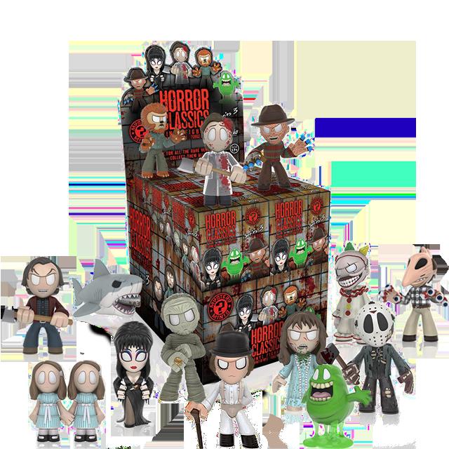 Figurky Mystery Minis Hororové klasiky série 3 - Blindbox