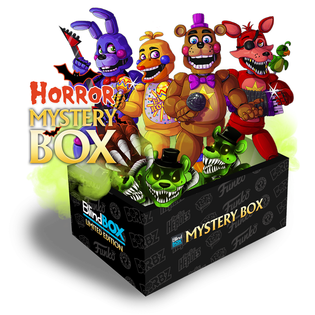 Blindbox Horror #9 FNAF Mystery Box