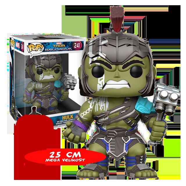 Figurka Funko POP! Hulk 25 cm - POŠKOZENÉ KLADIVO
