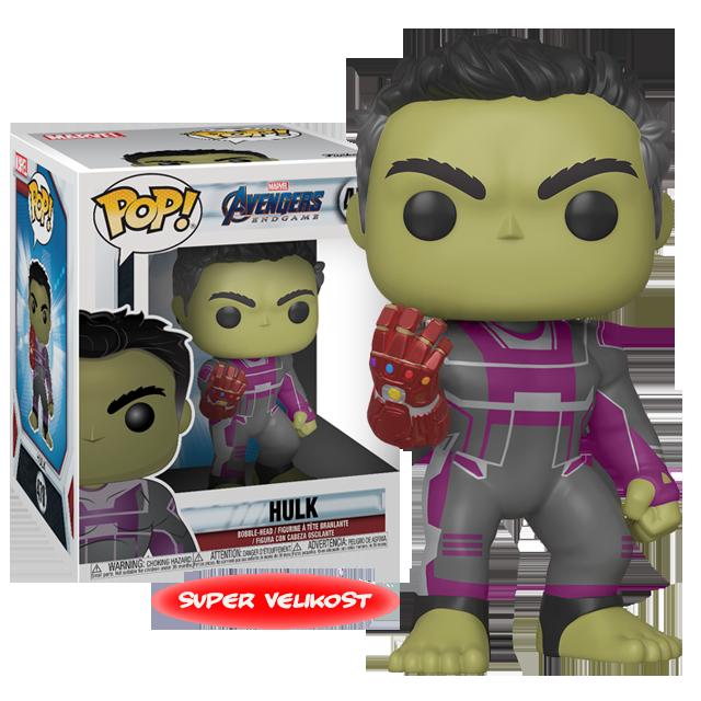 Figurka Funko POP Hulk s rukavicí - Endgame