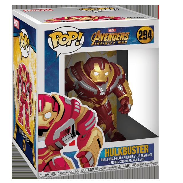 Figurka Funko POP! Hulkbuster - Infinity War
