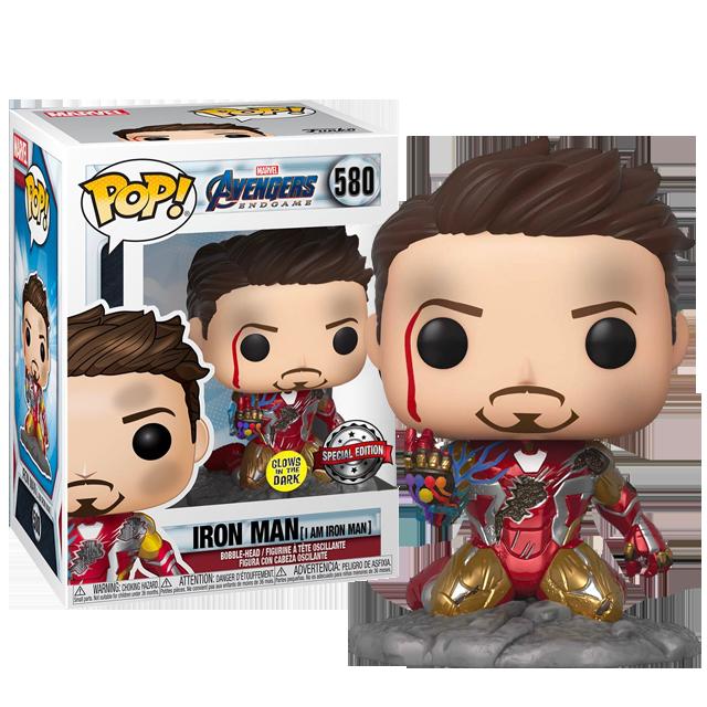 Funko POP I am Iron Man - Endgame