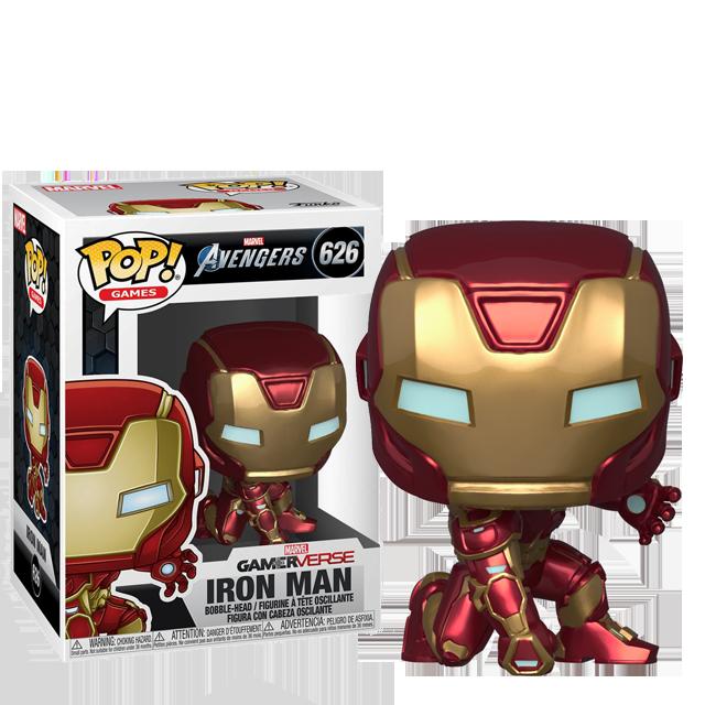 Funko POP Iron Man - Avengers Game