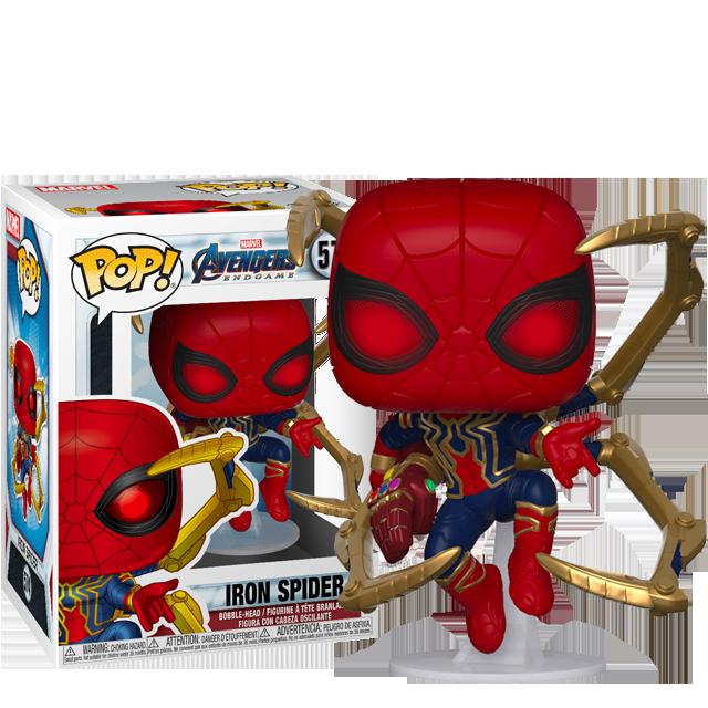 Figurka Funko POP Iron Spider s rukavicí - Endgame