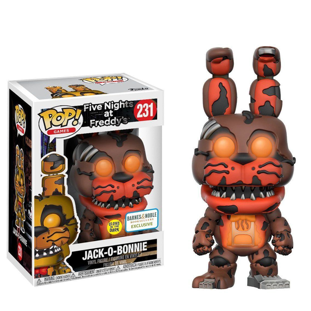 Figurka Funko POP! Jakc-O-Bonnie svítící ve tmě - Five Nights at Freddy's
