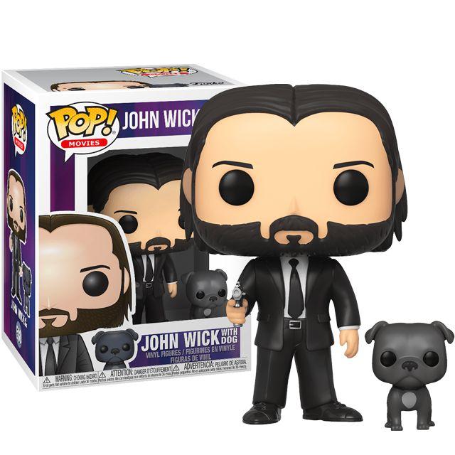 John Wick with dog