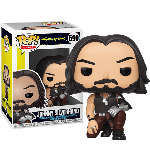 Funko POP Johnny Silverhand - Cyberpunk 2077