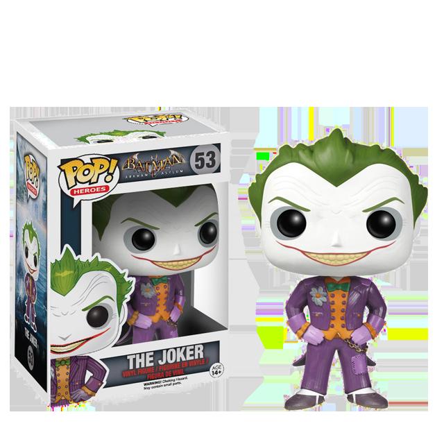 Figurka Funko POP! Joker - Arkham