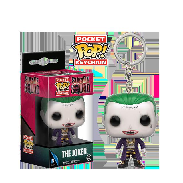 Pocket POP! Joker - přívěsek na klíče