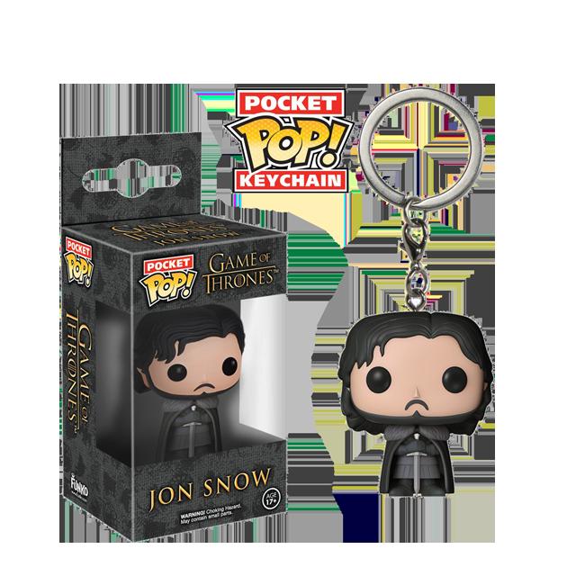 Pocket POP! Jon Snow - přívěsek na klíče