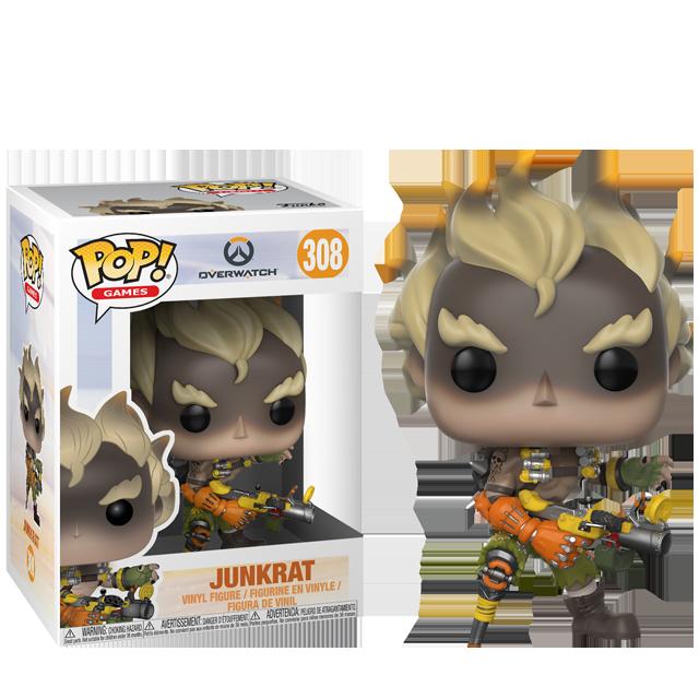 Figurka Funko POP! Junkrat - Overwatch