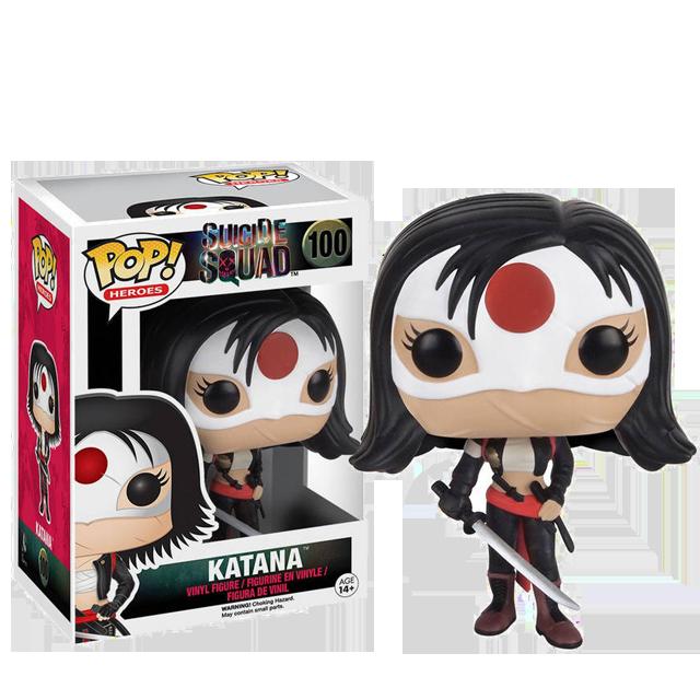 Figurka Funko POP! Katana - Suicide Squad