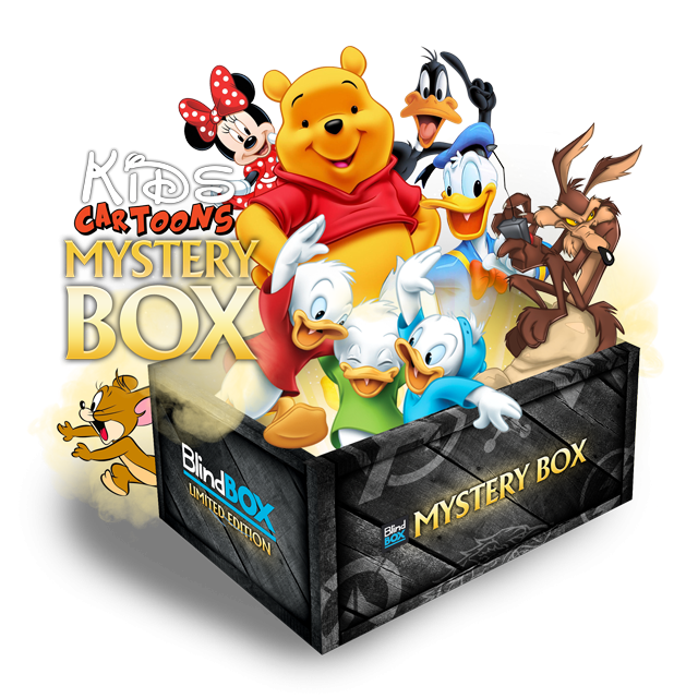 Blindbox Kids Cartoons #1 Mystery Box