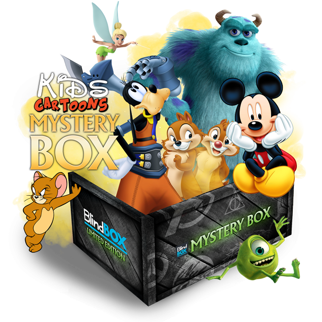 Blindbox Kids Cartoons #2 Mystery Box