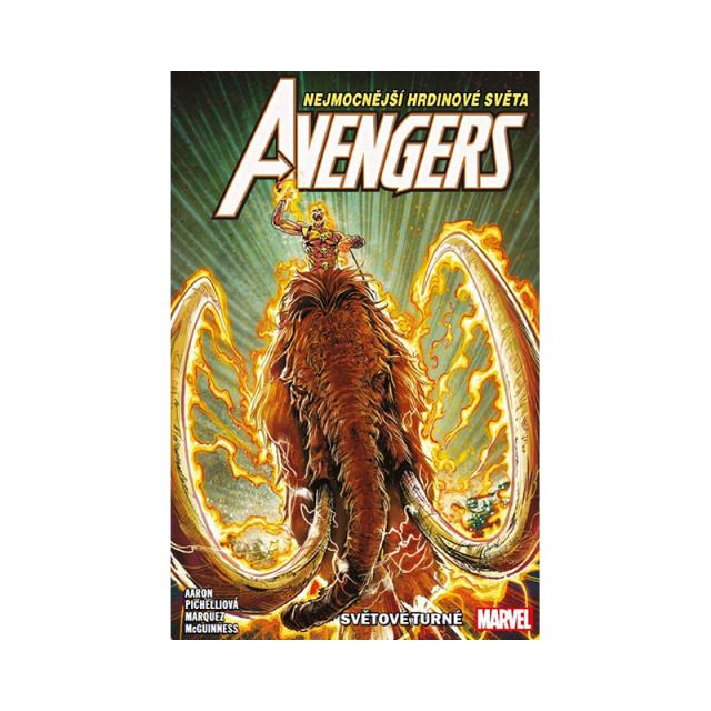 Crew Komiks Avengers 2: Světové turné