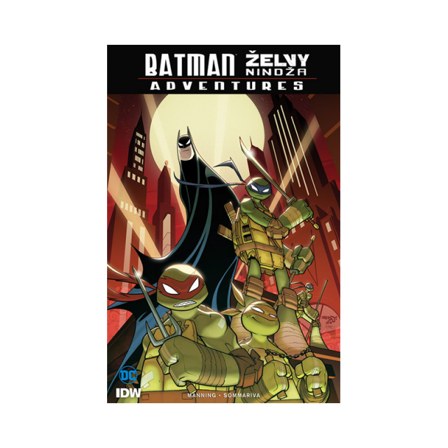 Crew Komiks Batman - Želvy nindža: Adventures
