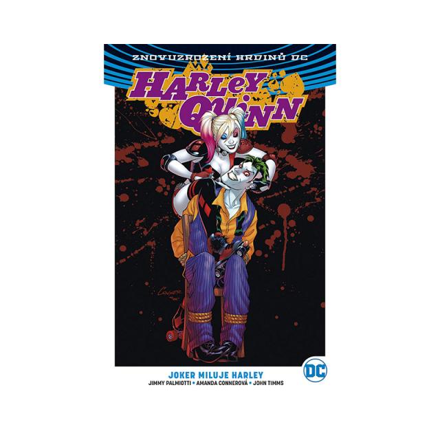 Crew Komiks Harley Quinn 2: Joker miluje Harley