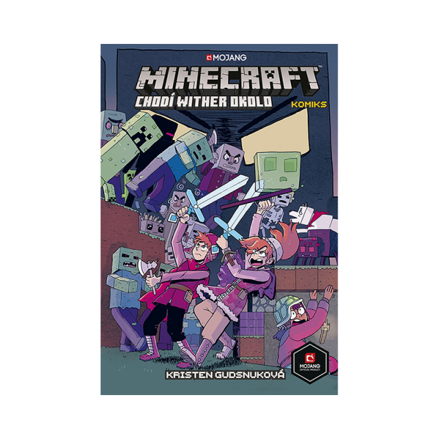 Crew Komiks Minecraft: Chodí Wither okolo