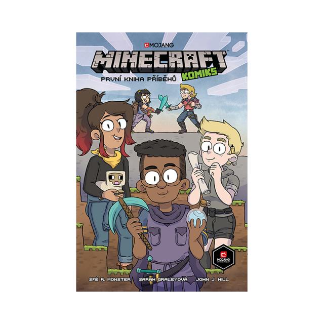 Crew Komiks Minecraft: První kniha příběhů