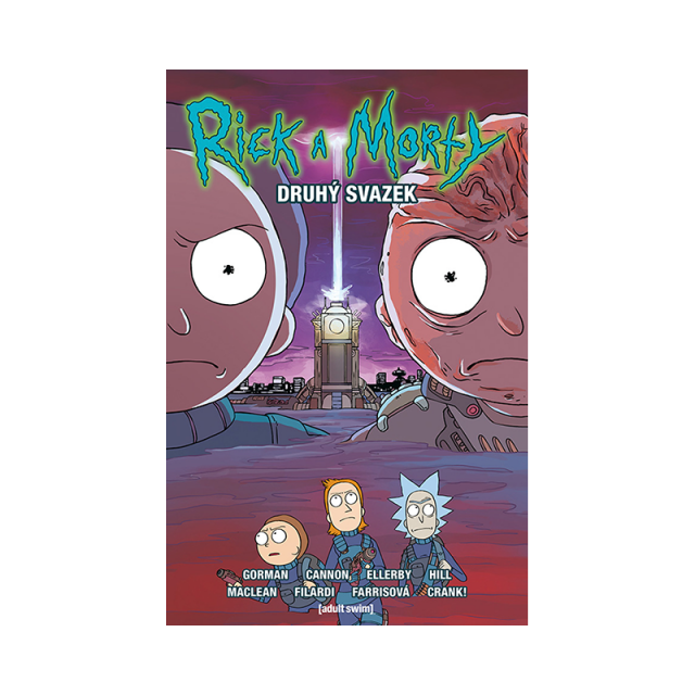 Crew Komiks Rick a Morty 2