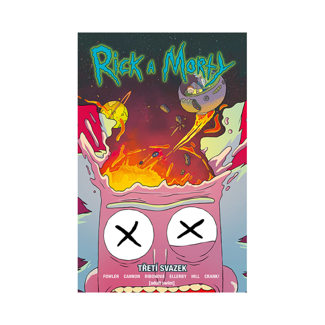 Crew Komiks Rick a Morty 3