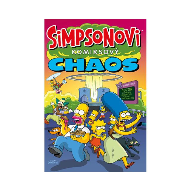 Crew Komiks Simpsonovi: Komiksový chaos