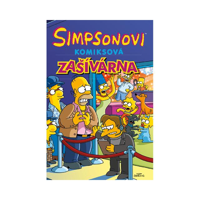 Crew Komiks Simpsonovi: Zašívárna