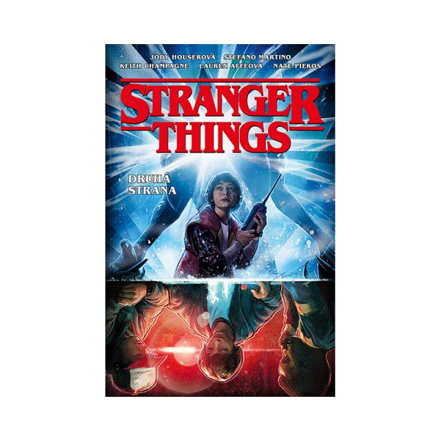 Crew Komiks Stranger Things: Druhá strana