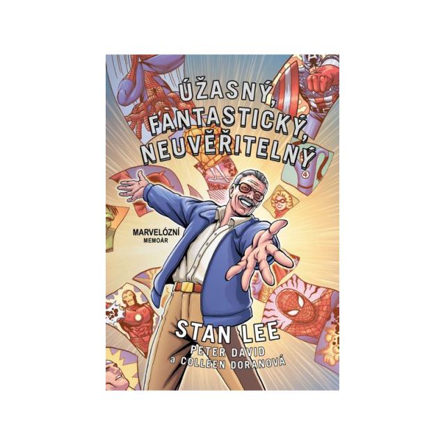 Crew Komiks Úžasný, fantastický, neuvěřitelný Stan Lee