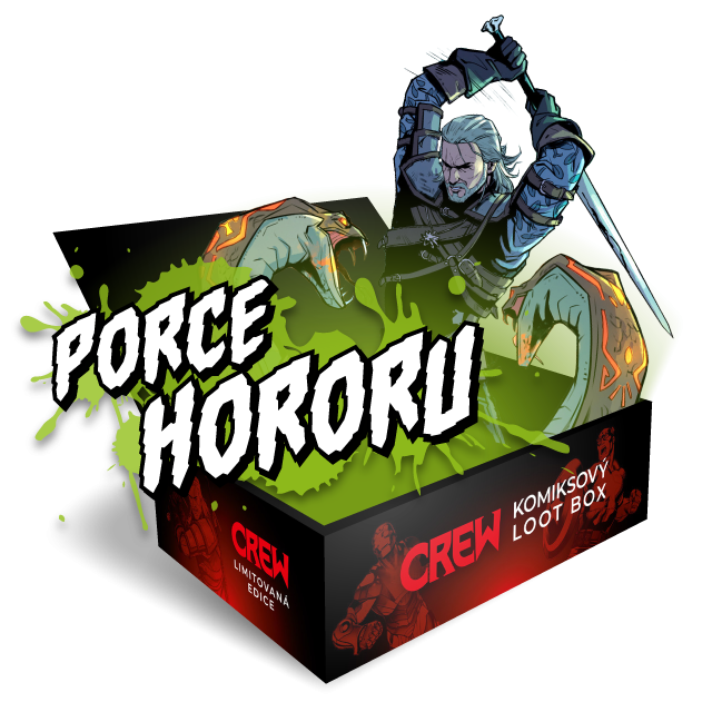Crew Komiksový Box: Porce hororu