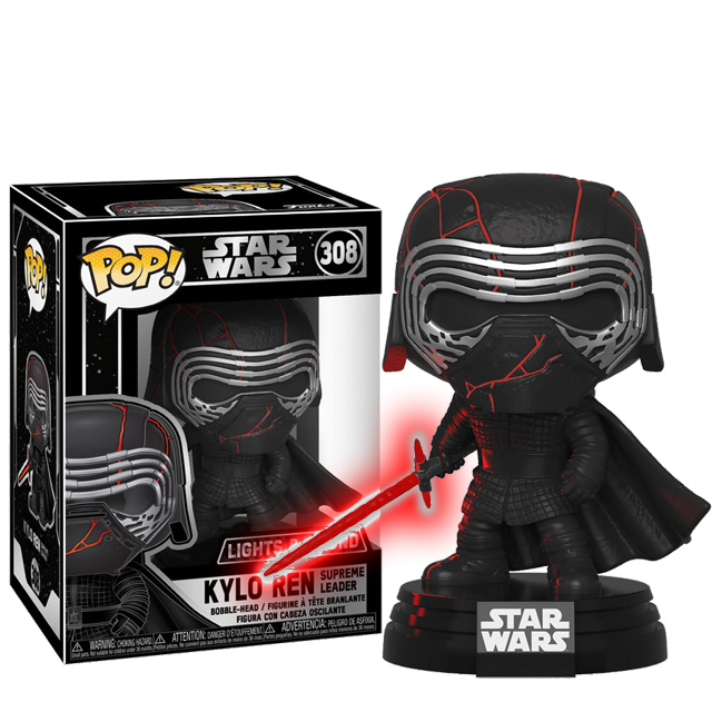 Funko POP Kylo Ren Electronic - The Rise of Skywalker