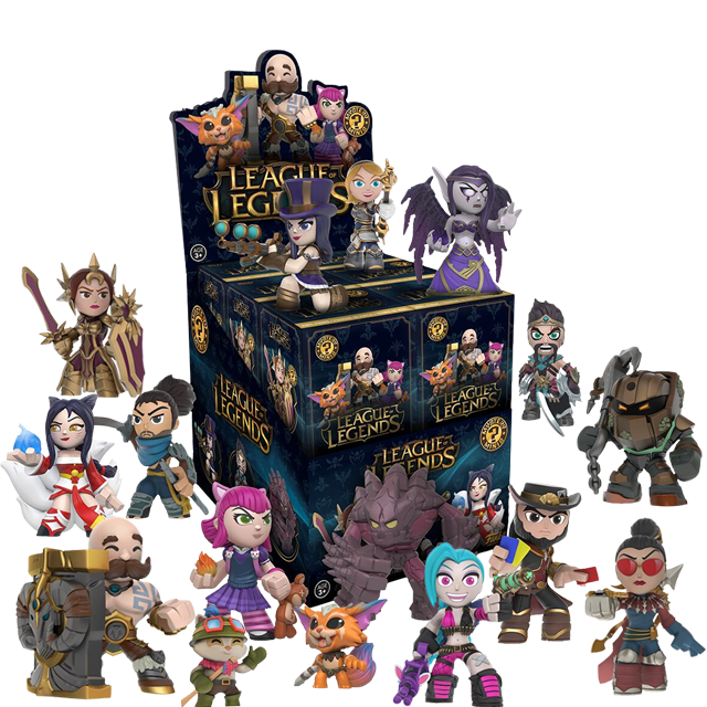 Figurky Mystery Minis League of Legends - Blindbox