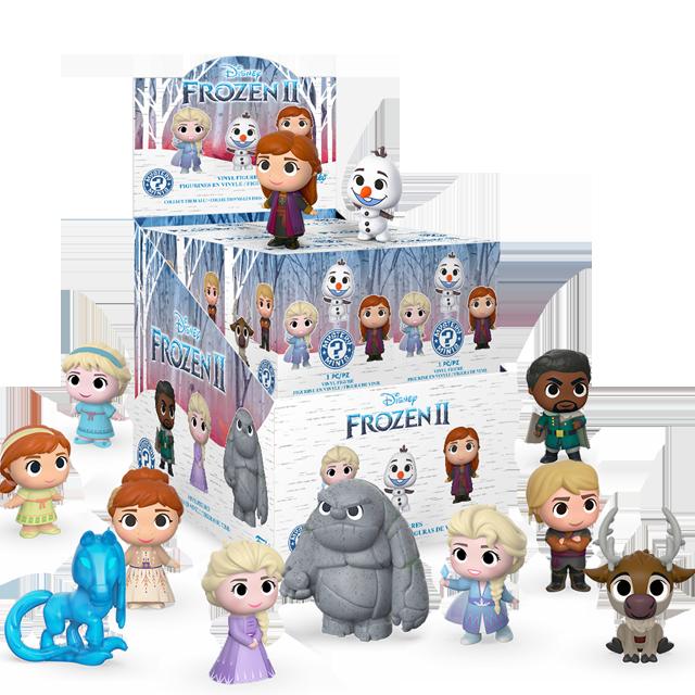 Figurky Mystery Minis Ledové království 2 - Blindbox