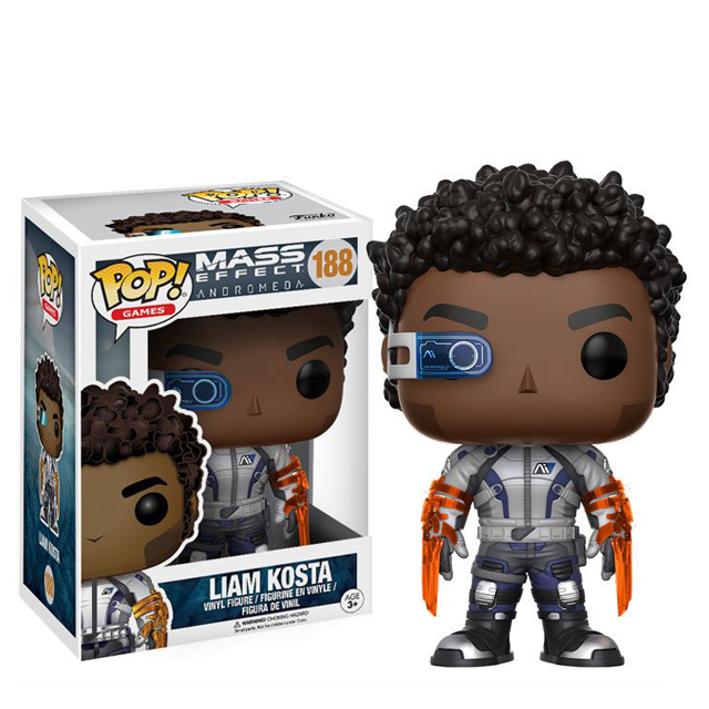 Figurka Funko POP! Liam Kosta - Mass Effect