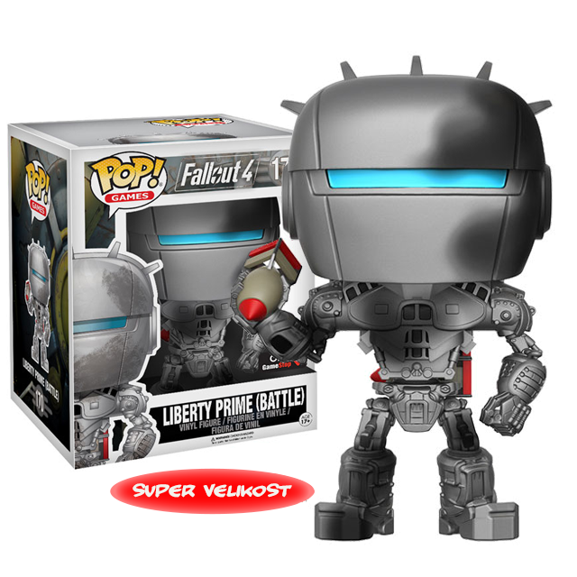Figurka Funko POP! Liberty Prime Battle Version
