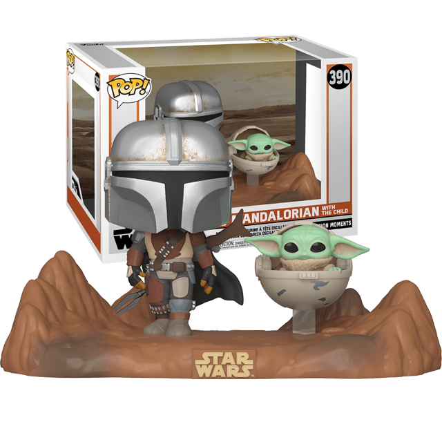 Funko POP Mandalorian a Baby Yoda - Moments