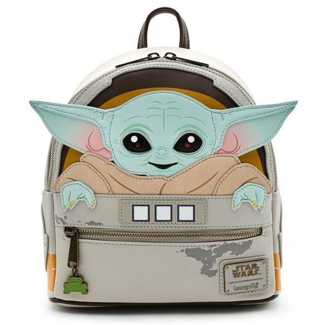 Loungefly Mandalorian Baby Yoda Mini Batoh