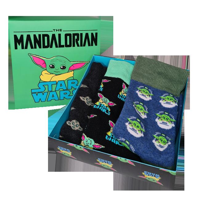 Cerdá Mandalorian Baby Yoda Ponožky 3Pack