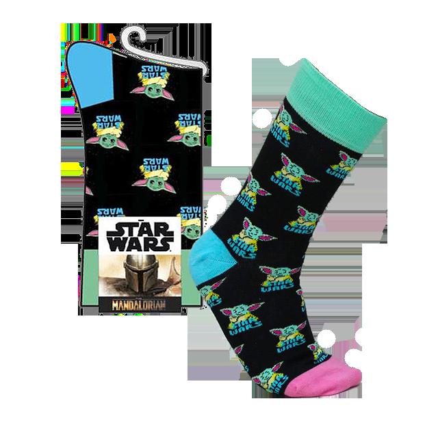 Cerdá Mandalorian Baby Yoda Ponožky 35-41