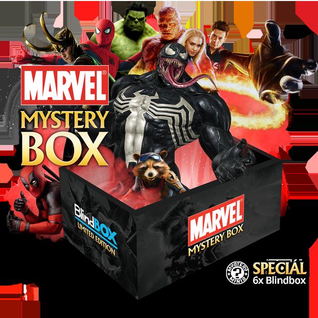Marvel Blindbox Speciál Mystery Box