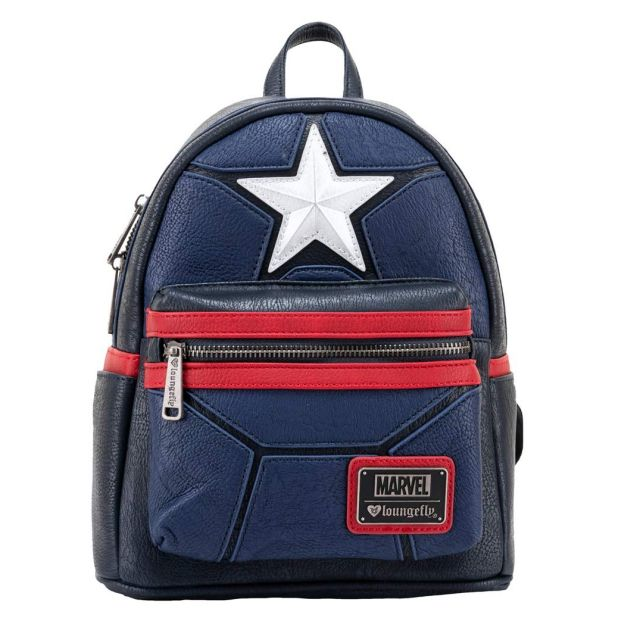Loungefly Marvel Captain America Mini Batoh