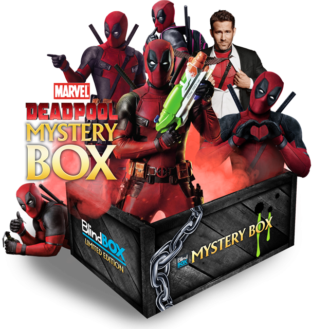 Blindbox Marvel: Deadpool Mystery Box