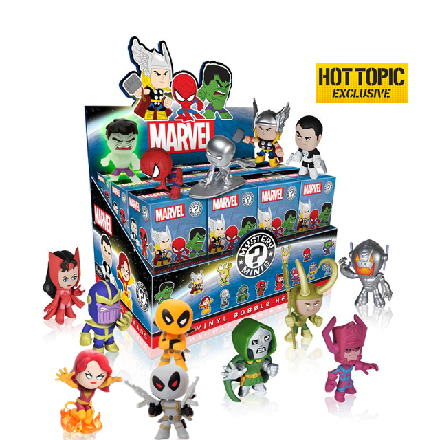 Figurky Mystery Minis Marvel Heroes - Blindbox HOTTOPIC