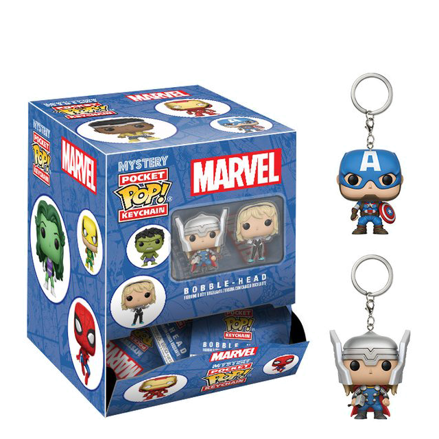 Pocket POP! Marvel přívesky na klíče - Blindbox